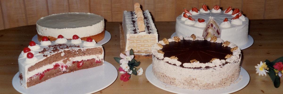 Kuchen und Torten, Spezialitäten aus unserem Café