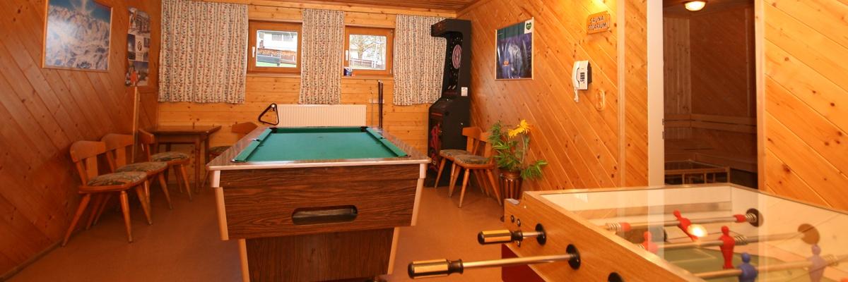 Spielzimmer im Hotel-Café Perner